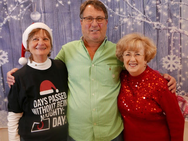 Left to right: Marilyn Jeter, Mark Satz, Mary Jane Oakley